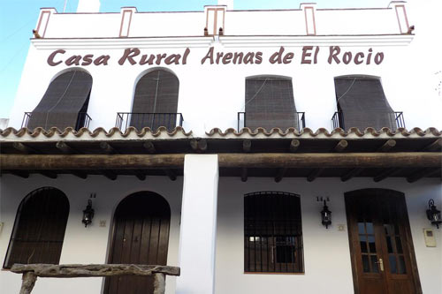 Frontage of Las Arenas del Rocio Rural Lodge