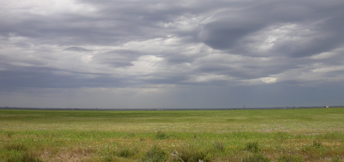 Nubes Marismas Doñana