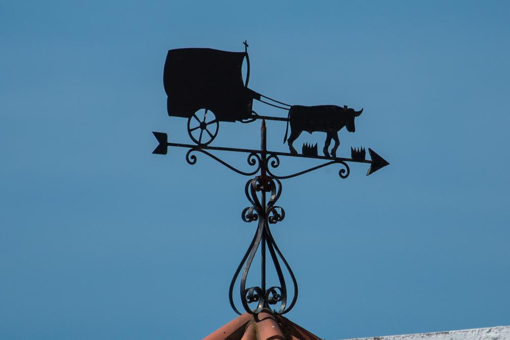 Vane bull and cart