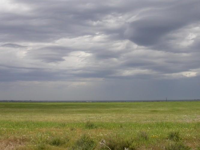 Nubes marismas Donana